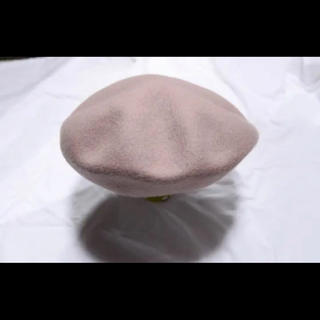 カシラ(CA4LA)のカシラ ca4la ウール ベレー帽 メンズ ブラウン(ハンチング/ベレー帽)