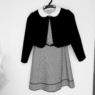 卒園式 入学式 ワンピース 女児130㎝(ドレス/フォーマル)