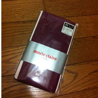 マリクレール(Marie Claire)のカラータイツ  送料込(タイツ/ストッキング)