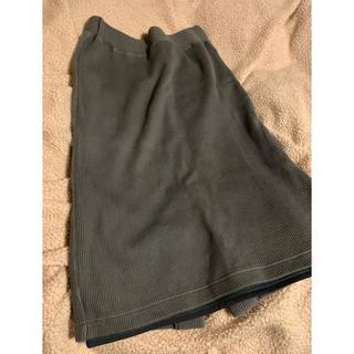 レイビームス(Ray BEAMS)のスカート ブルー(ひざ丈スカート)