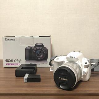 Canon - 極美品 ♡ Canon EOS kiss x9 レンズキット 人気モデル 白