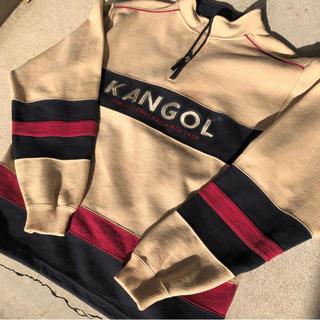 KANGOL - 90s 【 KANGOL 】 カンゴール ハーフジップ スウェット トレーナー