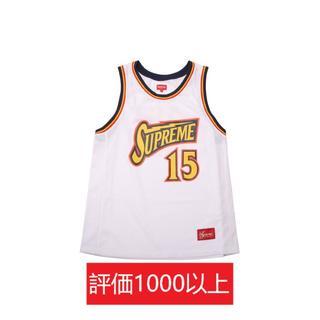 シュプリーム(Supreme)のSupreme Bolt Basketball Jersey 白L(Tシャツ/カットソー(半袖/袖なし))