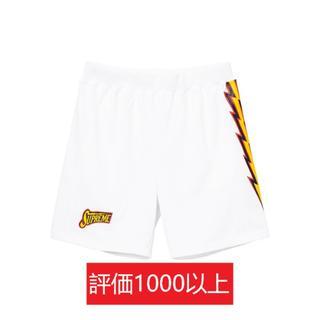 シュプリーム(Supreme)のSupreme Bolt Basketball Short 白L(ショートパンツ)