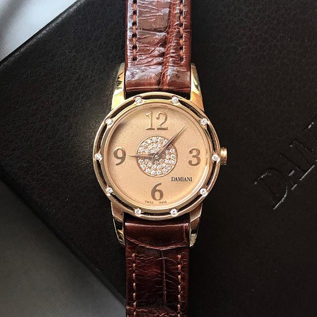 ガガミラノ コピー 芸能人も大注目 、 Damiani - 【購入価格】819,000円 限定品 美品 DAMIANI ダミアーニ 時計 の通販