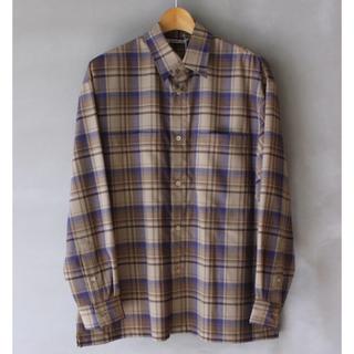 COMOLI - 美品 18aw Auralee スーパーライトウールチェックシャツ