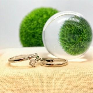【即日発送  箱つき】2個セット カップル ペアリング シルバーリング 指輪♥ (リング(指輪))