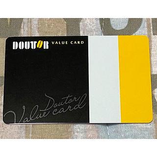 ドトールバリューブラックカード(フード/ドリンク券)