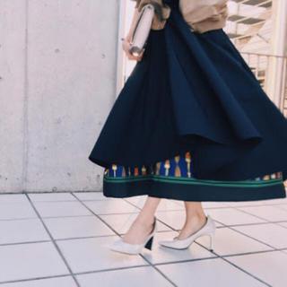 Ameri VINTAGE - Ameri vintage  アメリヴィンテージ  レイヤードフレアスカート