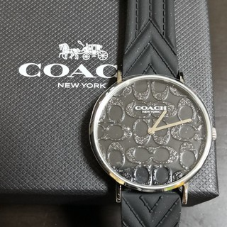 COACH - COACH 時計 ブラック