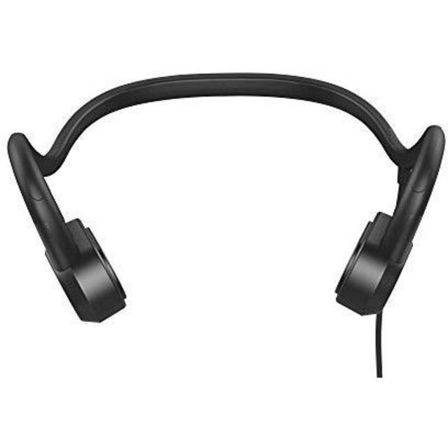 Sumeber 骨伝導 ヘッドホン 超軽量の有線 ヘッドセット 高音質 有線 黒 スマホ/家電/カメラのオーディオ機器(ポータブルプレーヤー)の商品写真