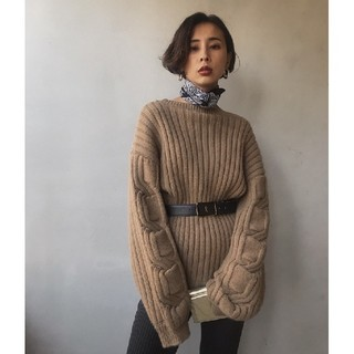 Ameri VINTAGE - アメリヴィンテージ CHAIN LINE KNIT