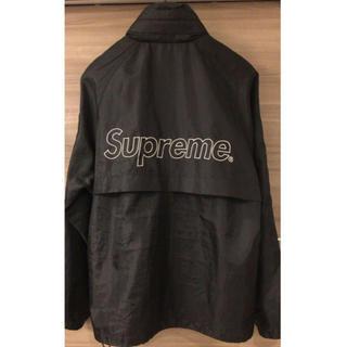 Supreme - 本物 正規品 supreme ナイロン ロゴ ジャケット ブルゾン パーカー新作