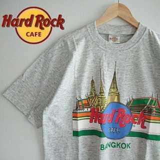 780 希少 ハードロックカフェ 90s 90年代製 デッドストック Tシャツ(Tシャツ/カットソー(半袖/袖なし))