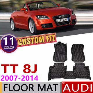 アウディ(AUDI)のアウディTT 2008-2014 全天候用 3Dカーペット 右ハンドル用(車内アクセサリ)