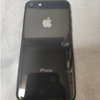 Apple - iPhone8 space gray 64gb docomo