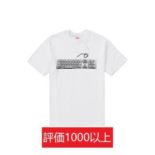 シュプリーム(Supreme)のSupreme Keyboard Tee 白L(Tシャツ/カットソー(半袖/袖なし))