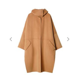 ルシェルブルー(LE CIEL BLEU)の新品タグ付き⭐︎ルシェルブルー フーディッドオーバーコート(ロングコート)