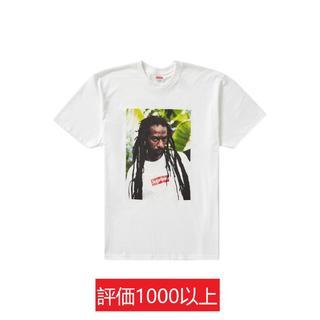 シュプリーム(Supreme)のSupreme Buju Banton Tee 白L(Tシャツ/カットソー(半袖/袖なし))