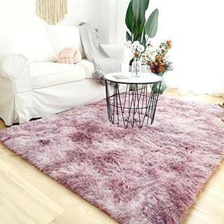 洗える 2畳 ラグマット カーペット 120*160 ピンク ¥3,990 商品