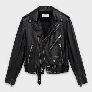 celine - 【CELINE】CLASSIC LEATHER BIKER JACKET