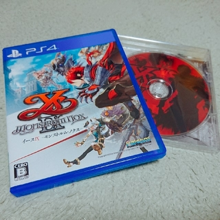 PlayStation4 - 【新品同様】イースIX -Monstrum NOX- PS4【サントラ付】