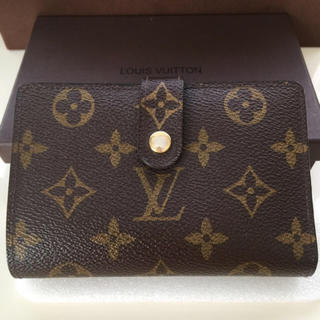 LOUIS VUITTON - 美品正規品ルイヴィトンがま口 折財布