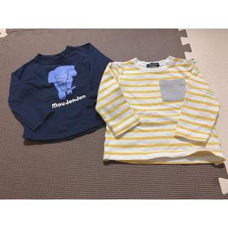 ムージョンジョン(mou jon jon)の中古品☺︎ムージョンジョントップス2点セット❤︎(Tシャツ)
