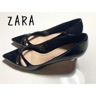ZARA - ZARA パンプス 黒