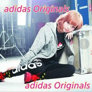 adidas - adidas Originals★きゃりー着用★総柄パーカー★トレフォイルロゴ