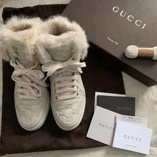 Gucci - GUCCIファースニーカー