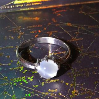 シルバー925  ムーンストーン moonstone 天然石 パワーストーン(リング(指輪))