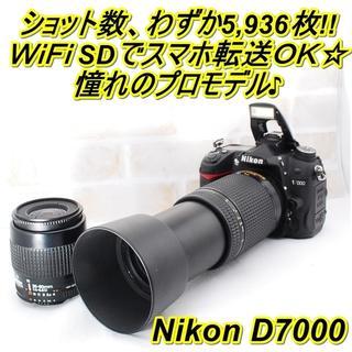 Nikon - ★ WiFiでスマホ転送OK! Nikon 7000 ダブルレンズキット ★