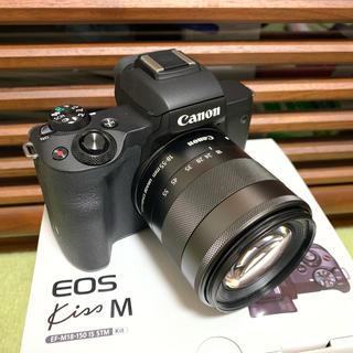 Canon - キャノン EOS KISS M レンズキット