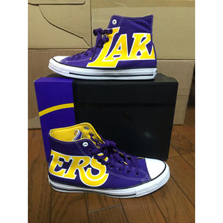 コンバース(CONVERSE)のconverse nba lakers 28.0cm(スニーカー)