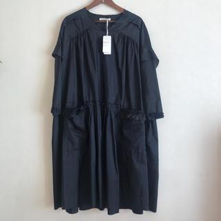 mina perhonen - 期間限定SALE!!ミナペルホネンvistaドレス ワンピース36ネイビー