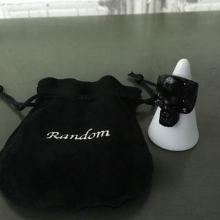 ランダム(RANDOM)のRANDOM ランダム スカルリング USED(リング(指輪))