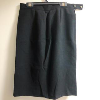 カルバンクライン(Calvin Klein)のカルバンクライン ウールスカート(ひざ丈スカート)