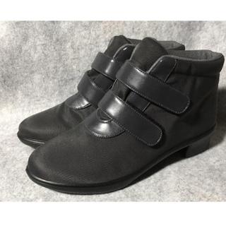 ワコール(Wacoal)のワコール tear 晴雨兼用ショートブーツ 23.5cm(レインブーツ/長靴)