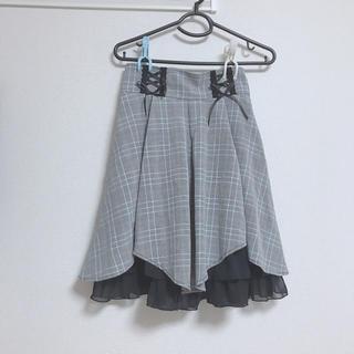 axes femme - フロント編み上げスカート