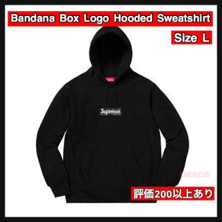 シュプリーム(Supreme)の【L】Bandana Box Logo Hooded Sweatshirt(パーカー)