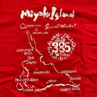 宮古島 ロングTシャツ 赤 グリマー社製 スーパーヘビーコットン(Tシャツ/カットソー(七分/長袖))