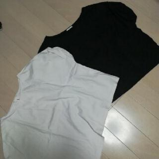 ジーユー(GU)の最終価格sale美品Gu 半袖二枚セット(Tシャツ(半袖/袖なし))