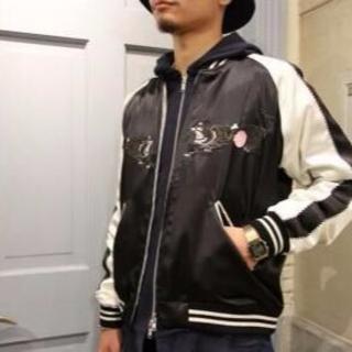 アンダーカバー(UNDERCOVER)のアンダーカバー john undercover トラ刺繍スカジャン サイズ3(スカジャン)