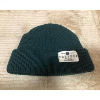 ユナイテッドアローズ(UNITED ARROWS)のニット帽 濃い緑色(ニット帽/ビーニー)