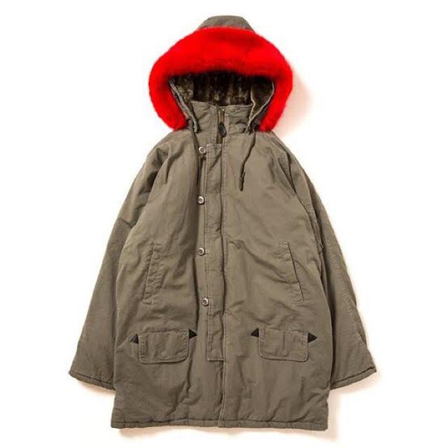 APPLEBUM(アップルバム)のAPPLEBUM N-3B Jacket サイズ:XL      カラー:カーキ メンズのジャケット/アウター(ミリタリージャケット)の商品写真
