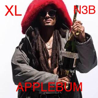 アップルバム(APPLEBUM)のAPPLEBUM N-3B Jacket サイズ:XL      カラー:カーキ(ミリタリージャケット)