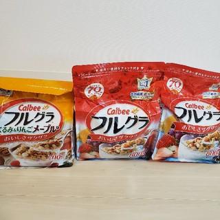 カルビー(カルビー)の【みど様専用】フルグラ! プレーンとメープルセット その②(その他)