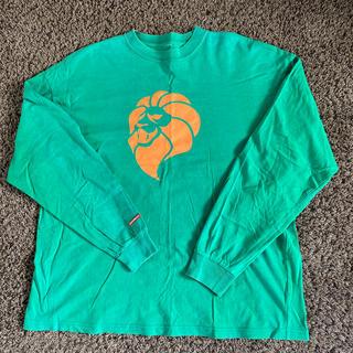 ネスタブランド(NESTA BRAND)のネスタ メンズ 長袖 ロンT  グリーン XXL(Tシャツ/カットソー(七分/長袖))