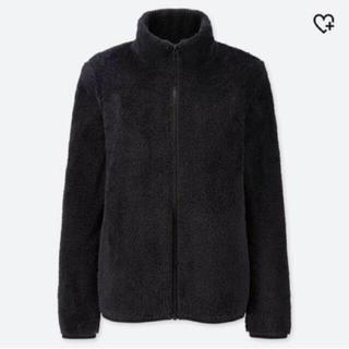 UNIQLO - ユニクロ ファーリーフリースフルジップジャケット ブラックXL